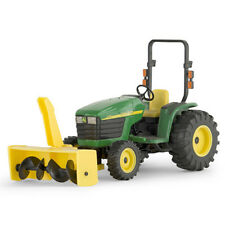 NEW JOHN DEERE 4310 COMPACT UTILITY TRACTOR W/SNOW BLOWER 1/16 SCALE LP53314