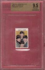 Beatles 1964 STAMP RELIC GRADED GEM MINT 9.5 PAUL MCCARTNEY JOHN LENNON RINGO GH