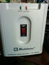 Koblenz refrigerator voltage regulator RI-2500 Series Model 2502 1500W/2500VA