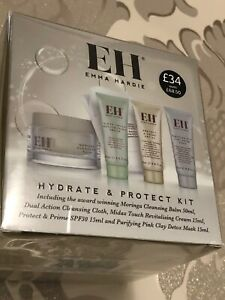 EMMA HARDIE Mornings Balm Midas Touch Cream ,protect & Prime pink Clay Mask BNew