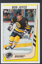 Panini 1989-1990 NHL Ice Hockey Sticker No 199 - Bob Joyce - Bruins