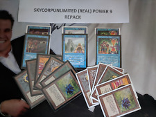 MTG Power 9 repack (Read Description).Black Lotus, Mox, Time Walk, Recall