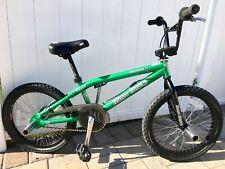 HARO BMX Green BACKTRAIL NYQUIST Rare Freestyle Bike Original Owner FREE S&H!!!