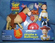 TOY STORY AND BEYOND  STYLIN JESSIE & BULLSEYE Playset-RARE & NEW !