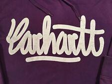 Carhartt Kapuzenpullover Herren Sweatshirt Hoodie Men's Workwear Lila Gr. L TOP