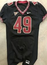 2006 rare BLACK team-issued Florida State Seminoles Nike football jersey #49