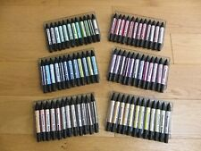 Set of 72 Letraset Promarker Twin Tipped Marker Pens