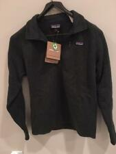 Patagonia Men's Better Sweater 1/4 Zip Jacket Carbon Small NWT