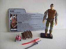 GI JOE 1988 Budo: Samurai Warrior w/ File Card