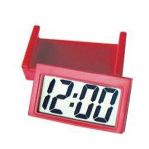 Auto Digital Car Dashboard LCD Clock Time Date Display Self-Adhesive Stick On