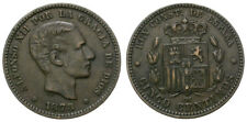 ALFONSO XII. 5 CENTIMOS. 1878. BARCELONA.