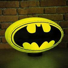 Dc Clásico Batman Logo Grande Inflable Noche Luz Novedad Lámpara - en Caja