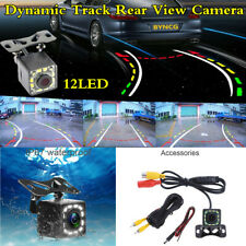 HD Car Dynamic Trajectory Parking Line Rear View Reverse Backup Tracks Camera