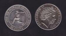 1908-2001 20 Cent Coin Sir Donald Bradman Cricket great H-866