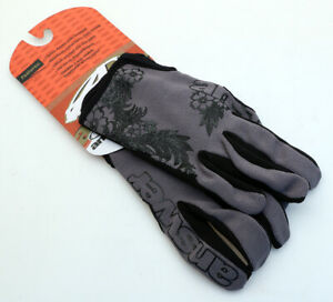 Answer Fall Line XC Pedal Women's Gloves Charcoal/Black MTB NEW