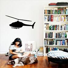 Huhome PVC Wall Stickers Wallpaper Children's Bedroom bed dormitory helicopter n
