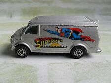 VINTAGE GORGI JUNIORS - SUPERMAN CHEVROLET VAN - DIECAST MODEL DC 1978 - GB