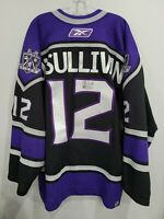 Autographed Reebok Los Angeles Kings Patrick O'Sullivan 12 On Ice Game Jersey 56