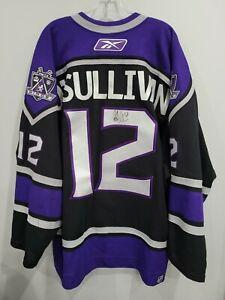 Autographed Reebok Los Angeles Kings Patrick O'Sullivan 12 On Ice Game Jersey 56