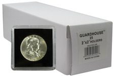 25 Guardhouse Tetra 2x2 Coin Holder Snap Capsule 30.6mm Half Dollar Storage Case