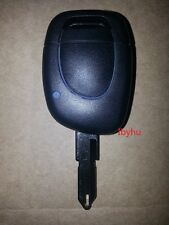 NEW RENAULT Twingo Clio Kangoo Master 1 Button Remote Key Fob Case & Blank Blade
