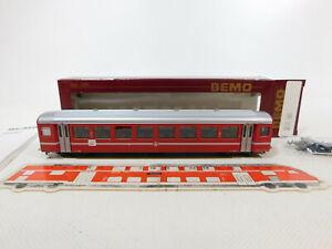 CK401-0,5# Bemo H0m/DC 3271 584 Personenwagen B 2284 BVZ/Zermatt, sehr gut+OVP