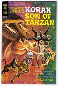 KORAK, Son of Tarzan #33 in FN+  a Gold Key Comics 1970 Edgar Rice Burroughs