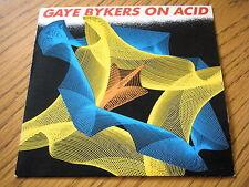 """GAYE BYKERS ON ACID - HOT THING  7"""" VINYL PS"""