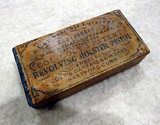 Antique Colt Style Combustible Cartridge Ammo Box Civil War .44 1860 Army