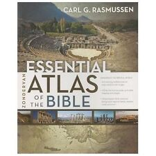 Zondervan Essential Atlas of the Bible by Carl G. Rasmussen (2013, Paperback)