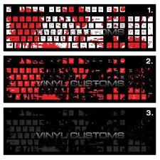 Mechanical Keyboard Cherry MX Keycap / Key cap Vinyl Decals - 007 Splatters