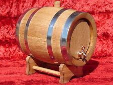 Oak BARREL 6 L Wooden Barrels Wood cider Whisky barrel Beer keg Wine cask