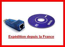 ADAPTATEUR USB vers 10/100Mbps ETHERNET RESEAU LAN RJ45 INTERFACE RESEAU
