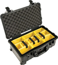 Peli Case 1510 Trolley mit Einteilungssystem schwarz Fotokoffer Kamerakoffer
