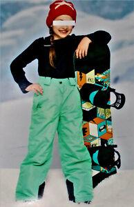 Kinder Mädchen Skihose Winterhose Schneehose Sporthose  Skilatzhose Hose Neu