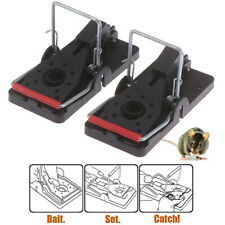 2Pcs Mouse Trap-Rat Traps Snap Rodent Killer Mice Trap and Easy To Use Snap CWCA