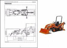 Kubota BX25 / BX25D Compact Tractor WSM Service Repair Workshop Manual CD