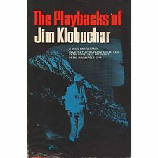 PLAYBACKS OF JIM KLOBUCHAR 1967 HC DJ signed/autographed P1