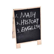 Mini Wooden Chalkboard Blackboard Message Table Number Wedding Party Decor 5NP