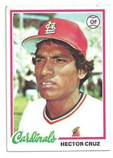1978 Topps #257 Hector Cruz St. Louis Cardinals