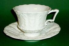 Alte Meissen Prunktasse Kaffeetasse Tassen Gedeck Porzellan Prunk Tasse cup old