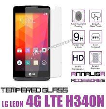 PELLICOLA IN VETRO TEMPERATO PER LG LEON 4G LTE H340N TEMPERED GLASS PROTEZIONE