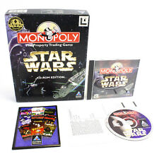 Star Wars Monopoly for PC CD-ROM in Big Box by Hasbro, 1997