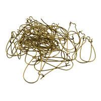 100pcs Kidney Earring Wire Earwire Ear Hooks Ear Wire DIY Jewelry Findings
