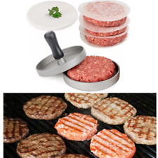 1pc Aluminum Hamburger Meat Press Meat Beef Grill Burger Press Patty Maker Tool