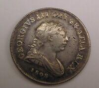 Ireland George III 1808 Bank of Ireland 30 pence Silver Token Rare