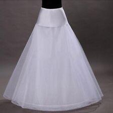 Jupon de mariée Ligne-A pour robe de mariée CYMBELINE 1 CERCEAU 3 COUCHES