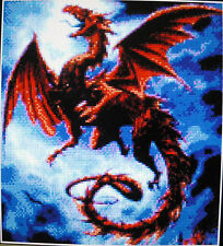 DRAGON ~ NEW Counted Cross Stitch KIT #ML31