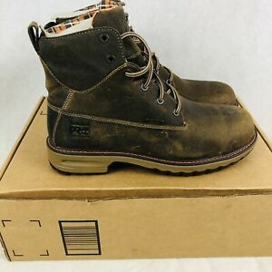 "Timberland Pro Womens Hightower 6"" Waterproof Boots 400g Size 10 Brown A1Q64 Box"