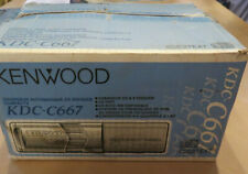 Kenwood Kdc-C667 Car Auto Compact Disc Cd Changer 6 Disc 1 Bit Converter